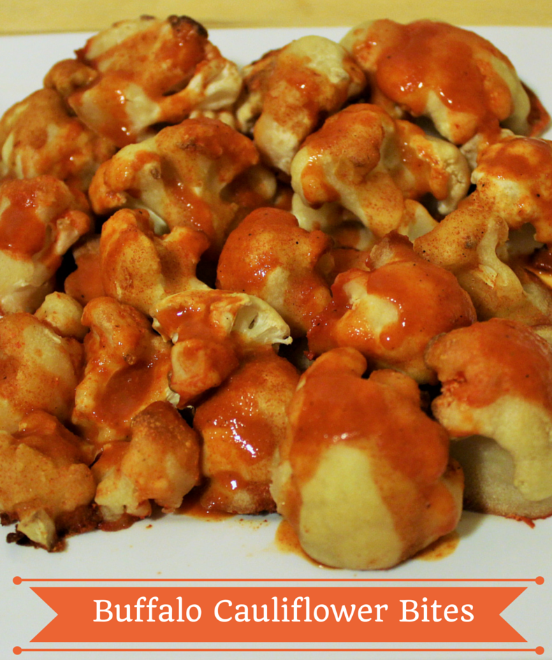 Spicy Buffalo Cauliflower Bites Recipe — Dishmaps